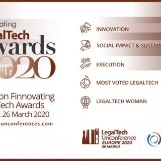 Legaltech awards 2020 - Finnovating