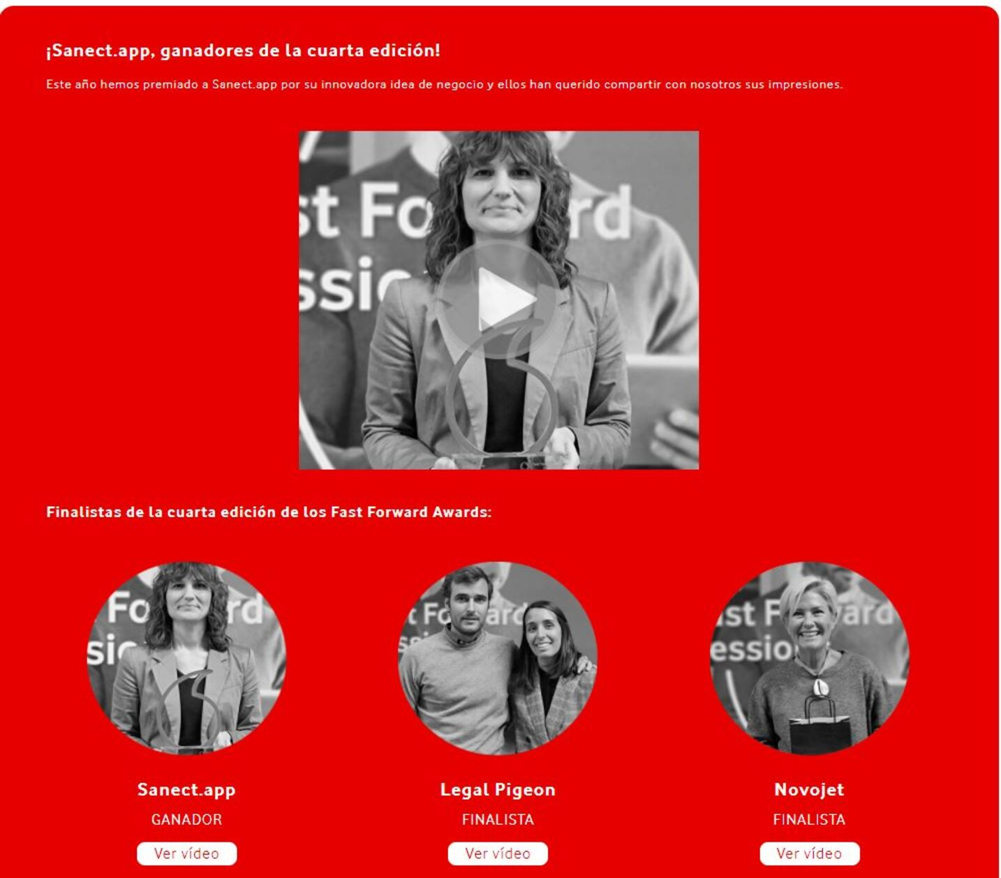 Fastforward Legal Pigeon Vodafone